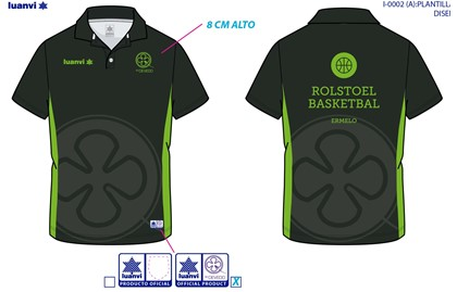 CUSTOM MADE POLO SHIRT LUANVI SPORT